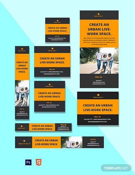 Urban Real Estate Ads Template