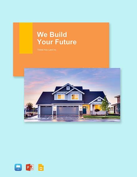 Real Estate Sales Profile Template