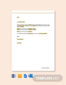 Free Proof of Income Letter for Self Employed