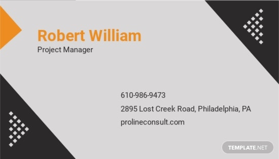 Business Consultant Business Card Template 1.jpe