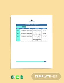 Monthly Real Estate Timesheet Template