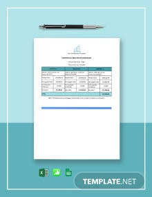 Commercial Real Estate Worksheet Template