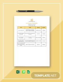 Real Estate Goal Setting Worksheet Template