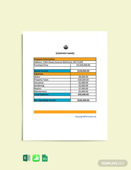 Free Real Estate Worksheet Template