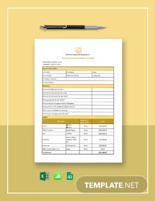Real Estate Buyer Information Sheet Template