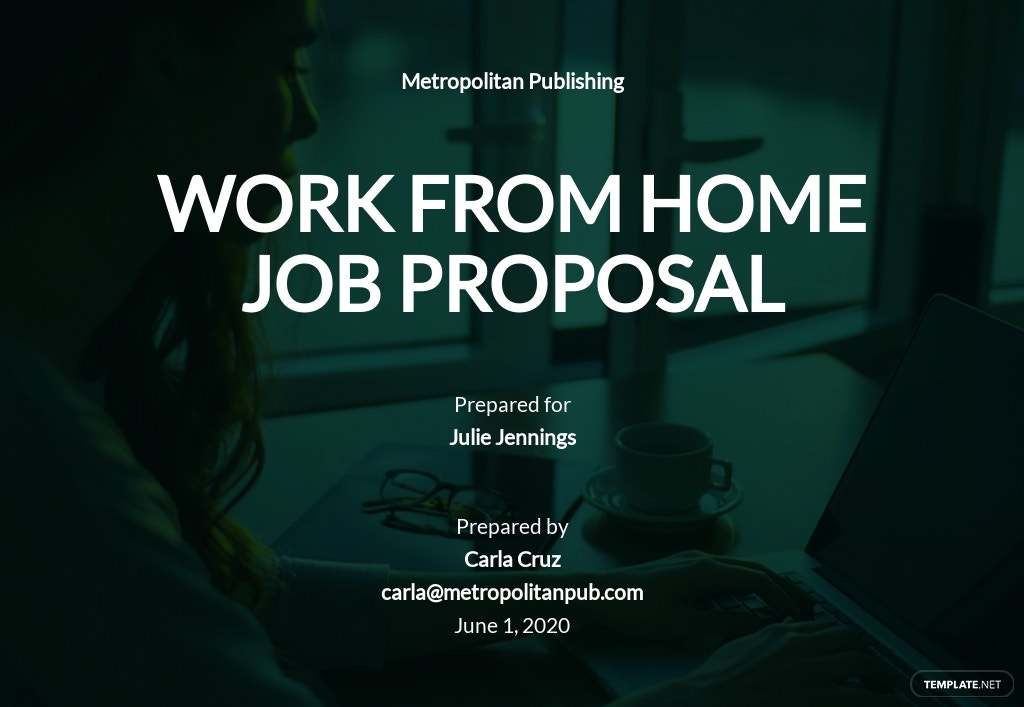 Sample Work From Home Proposal Template.jpe