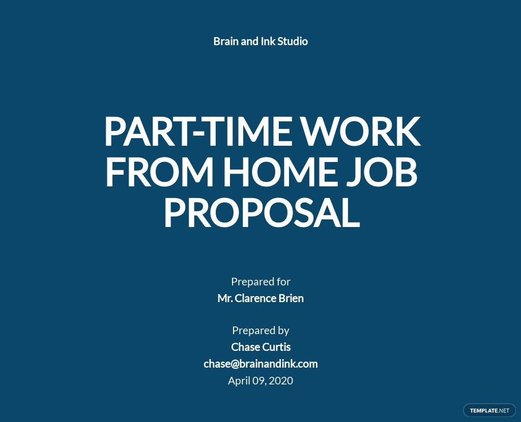 Work From Home Part Time Proposal Template.jpe