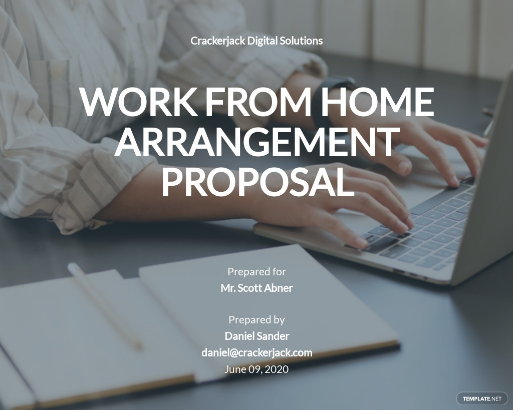 Employment Work From Home Proposal Template.jpe