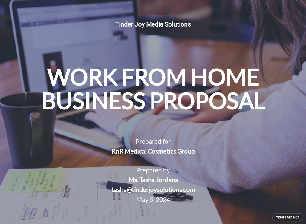 Work From Home Business Proposal Template.jpe