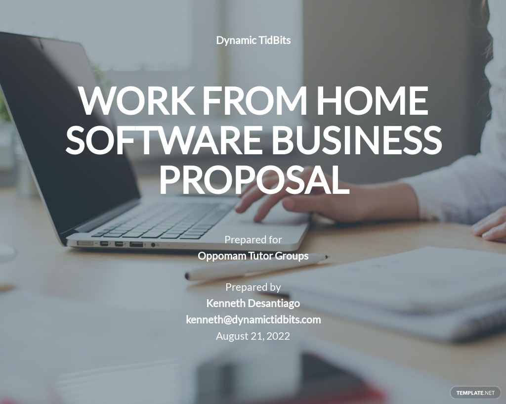 Business Proposal To Work From Home Template.jpe