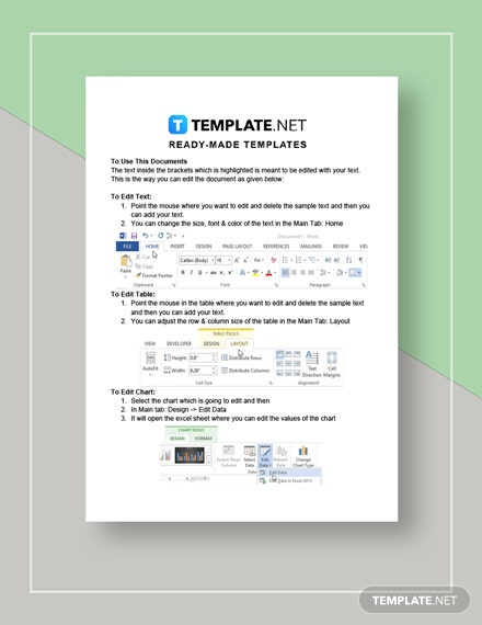Real Estate Prospecting Letter Instruction