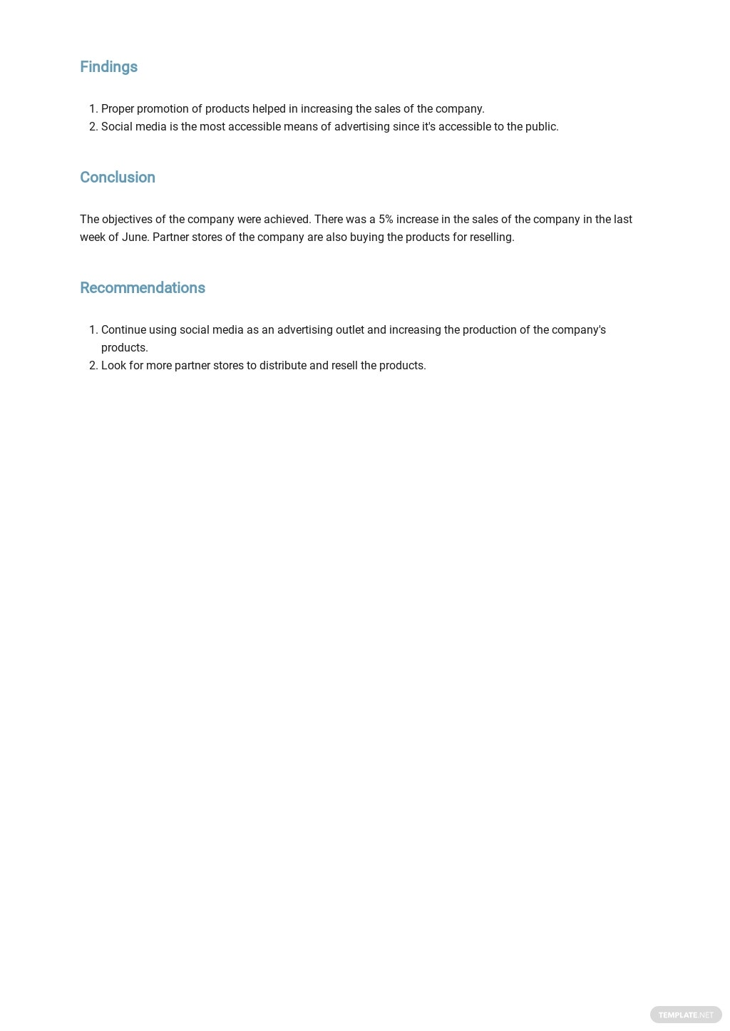 Free Monthly Business Management Report Template 3.jpe
