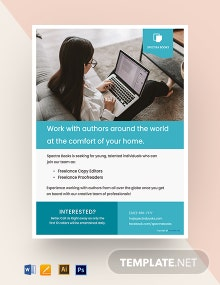 Free Work From Home Flyer Template