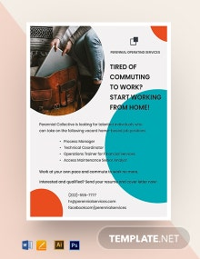 Covid-19 Work From Home Template