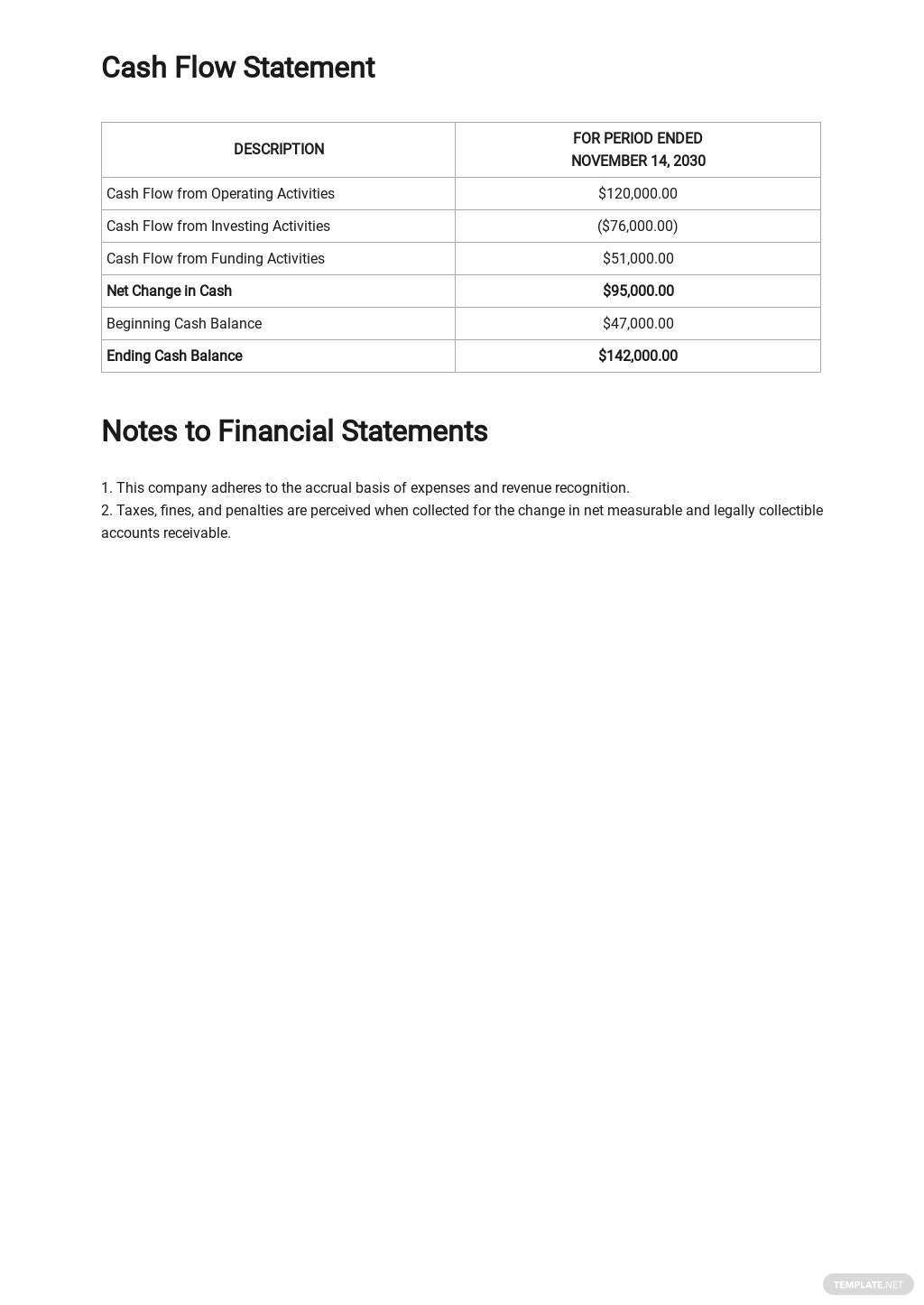 Free Monthly Financial Report Template 3.jpe