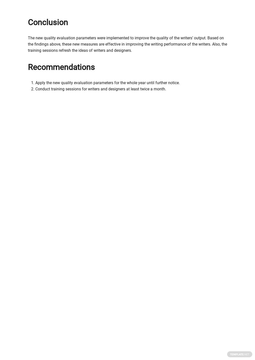 Free Monthly Operations Report Template 3.jpe