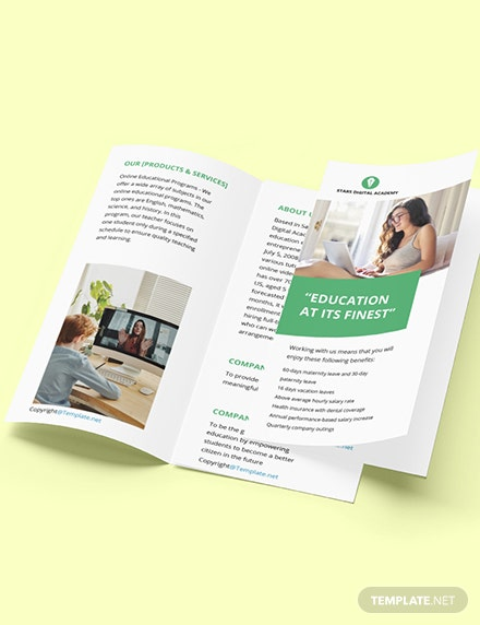 Free Trifold Simple Work Form Home Brochure Template Format