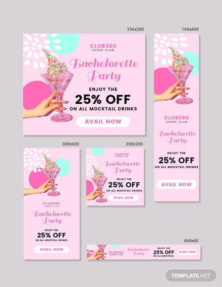Free Bachelorette Party Banner Template