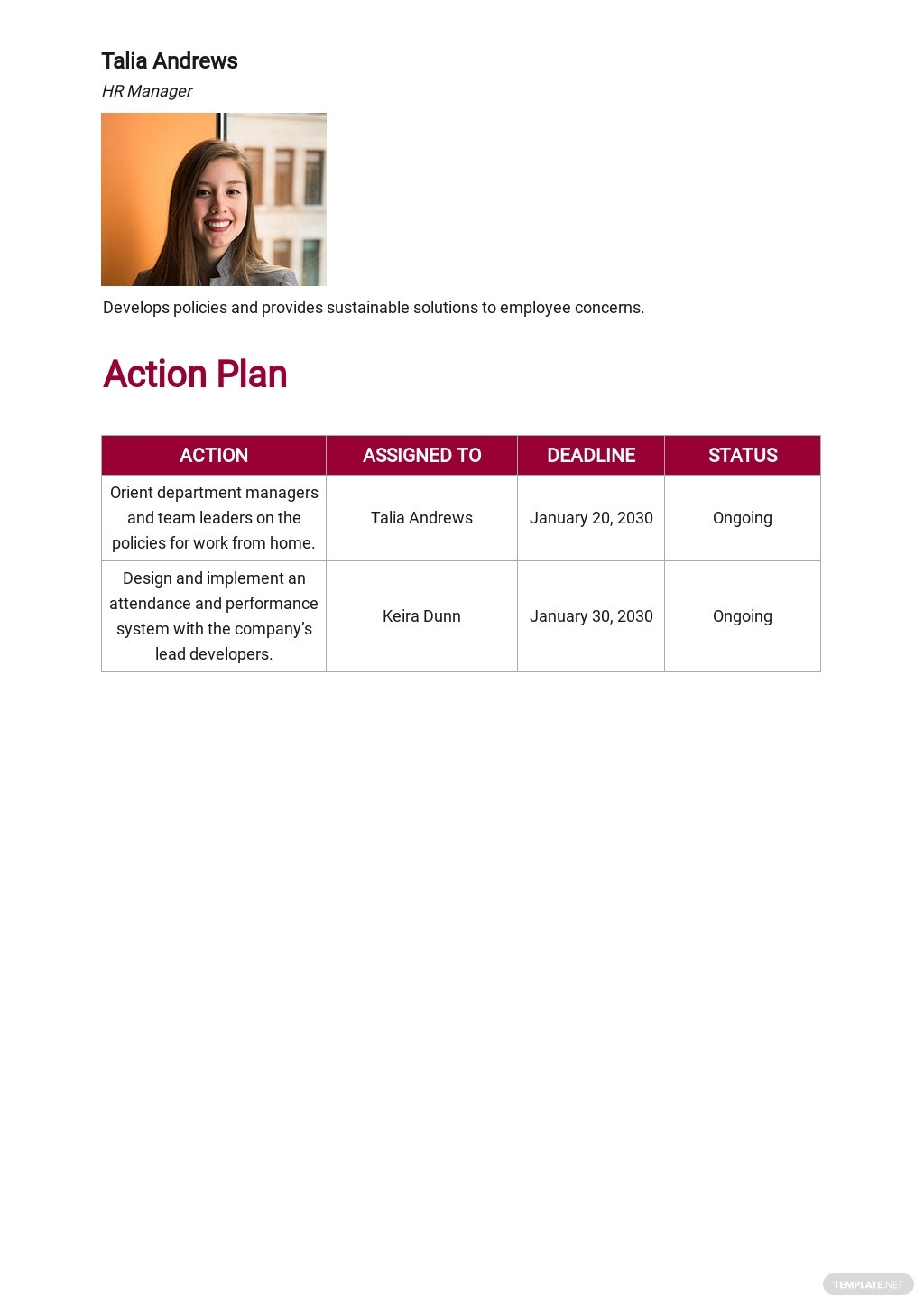 Work From Home Contingency Plan Template 3.jpe