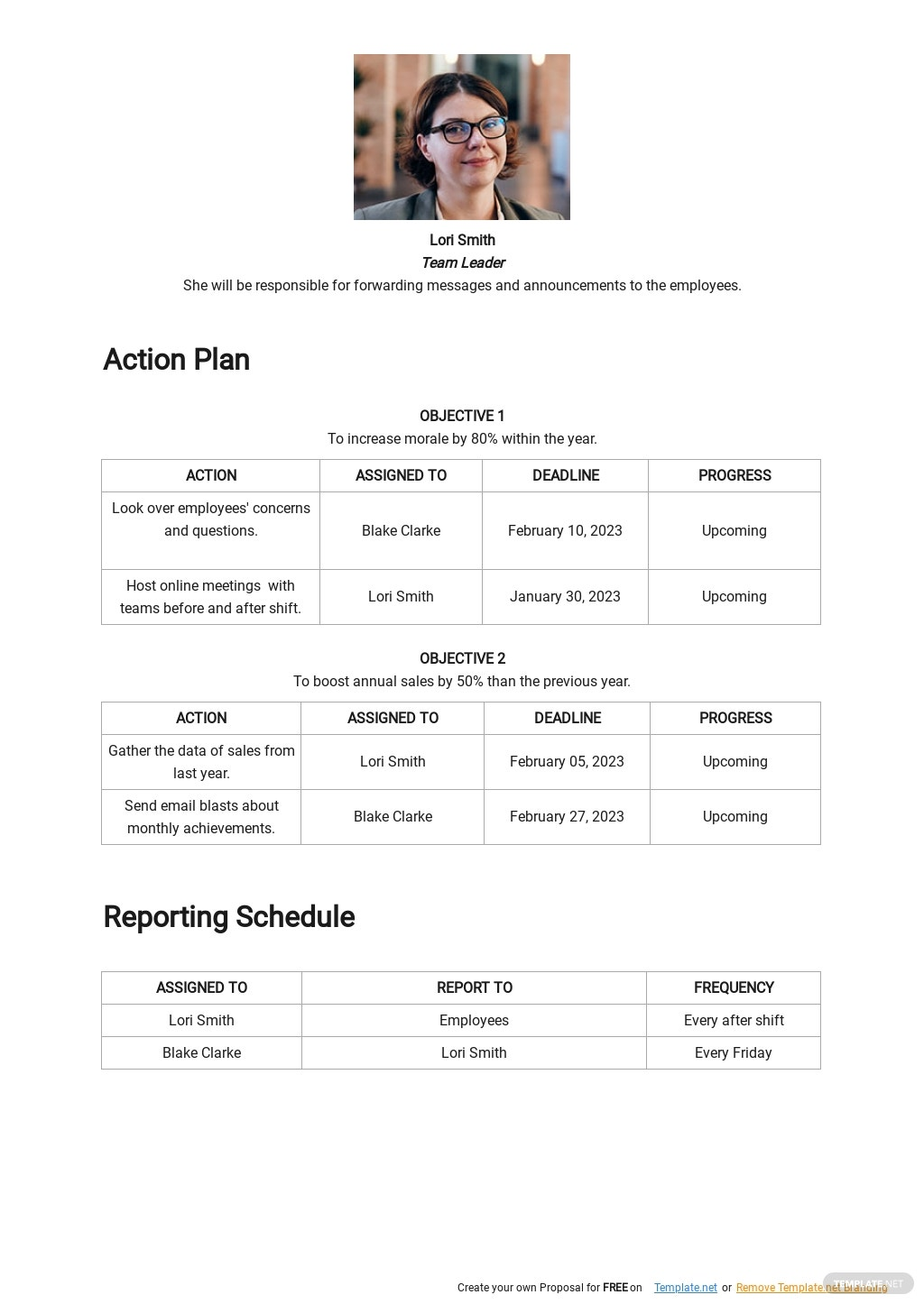WFH Project Communication Plan Template 2.jpe