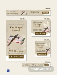 Free Church Banner Template