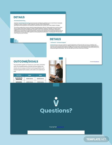 Free Sample Work From Home Presentation Template format