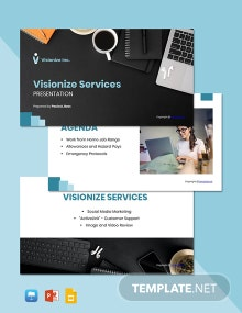 Sample Work From Home Presentation Template
