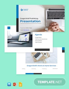 Work At Home Presentation Template
