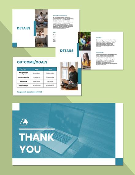 Employee Remote Work Presentation Template format