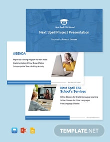 Work From Home Project Presentation Template