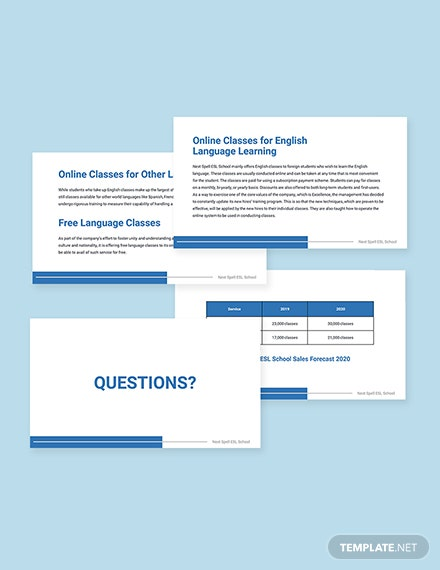 Work From Home Project Presentation Template Sample
