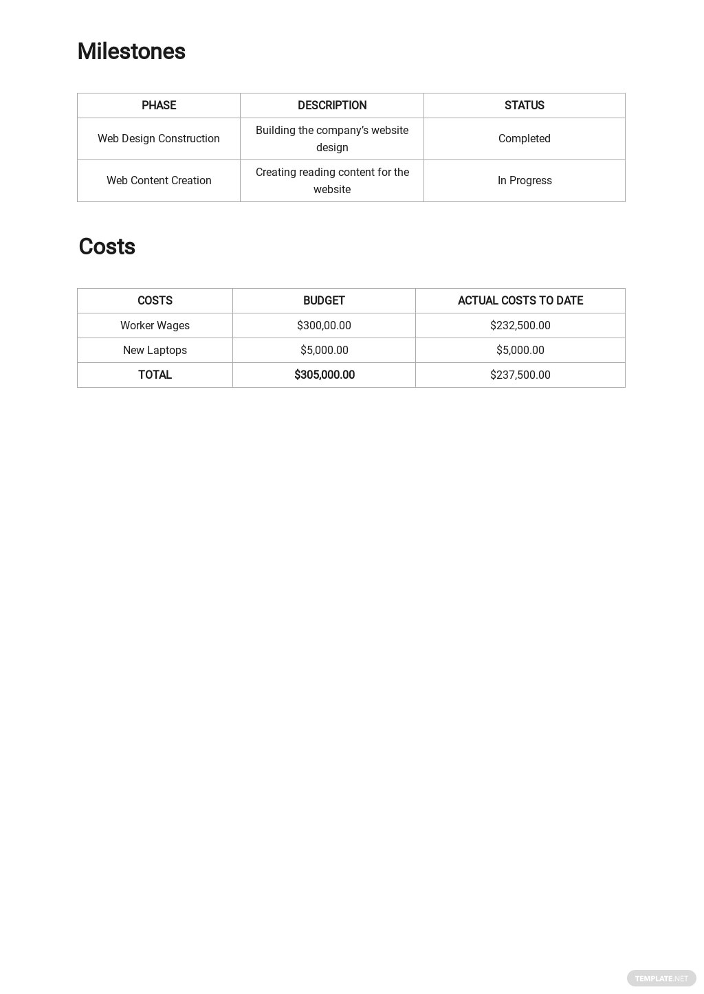 Work From Home Activity Report Template 2.jpe