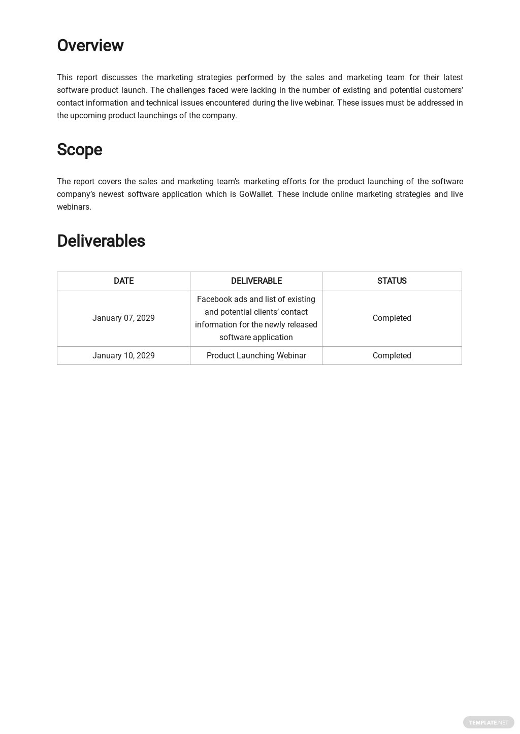 Work From Home Task Report Template 1.jpe