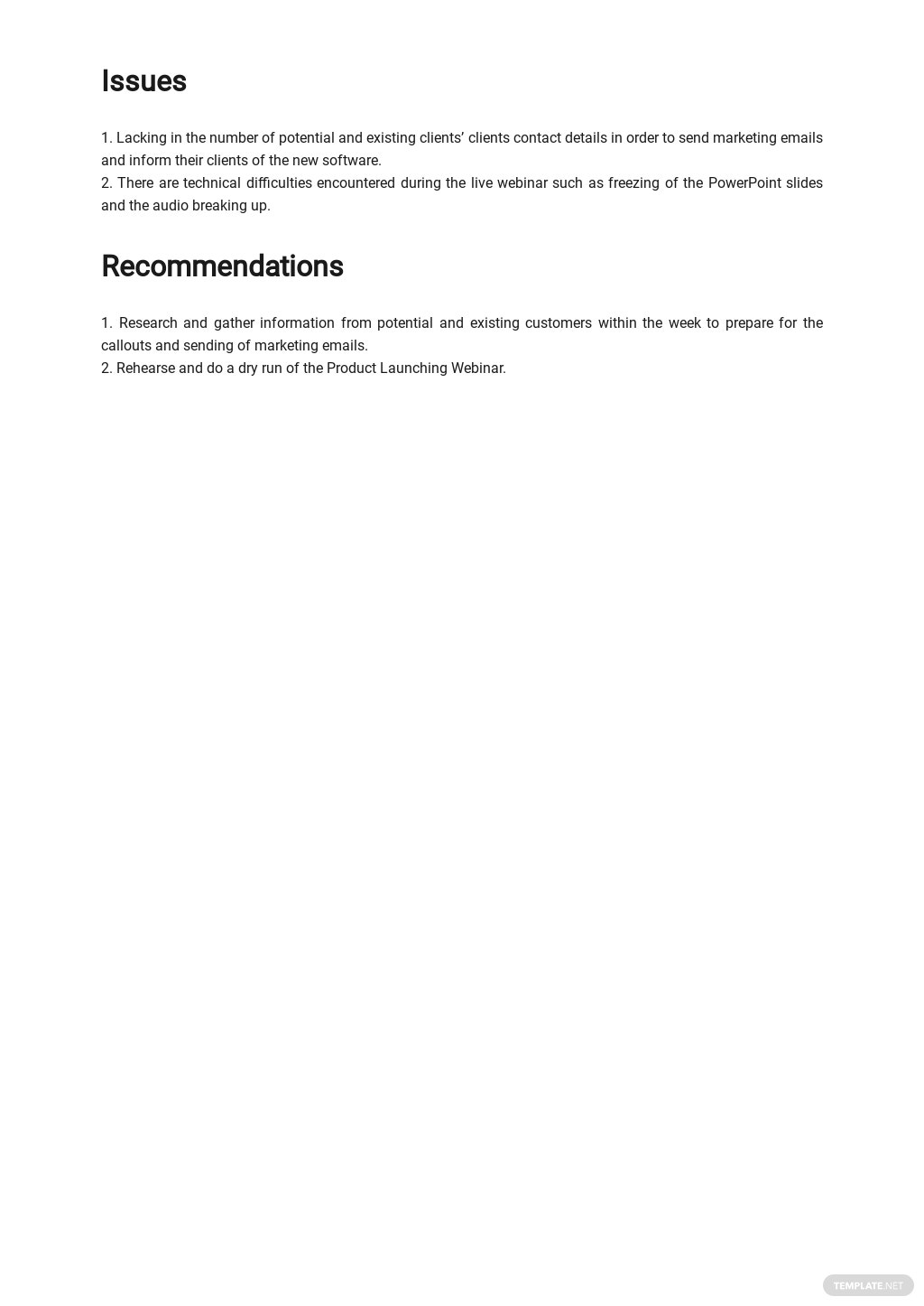 Work From Home Task Report Template 2.jpe