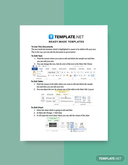 Work From Home Progress Report Template sample
