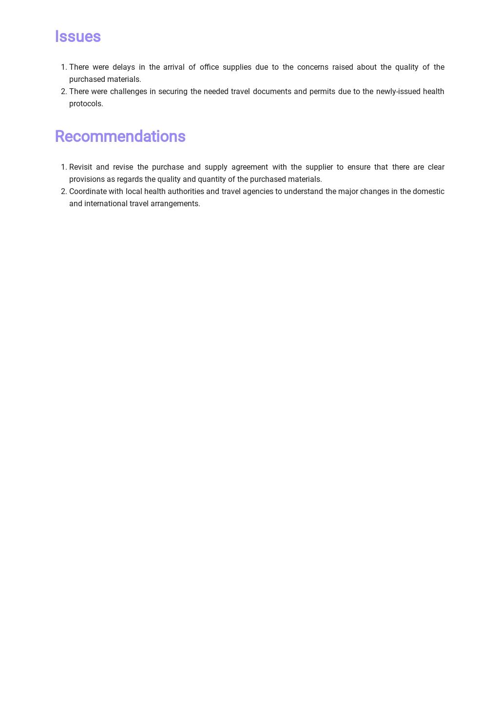 Free Simple Work Report Template 2.jpe