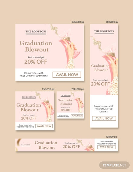 Free Graduation Banner Template