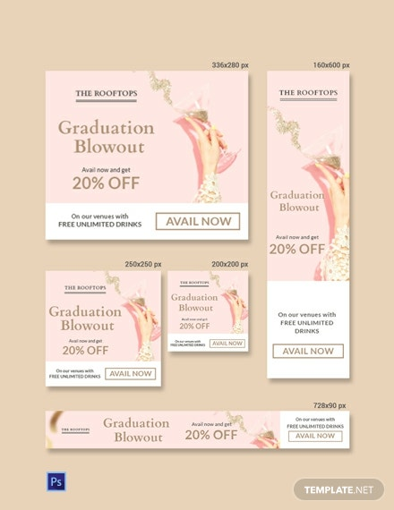 Free Graduation Banner Template