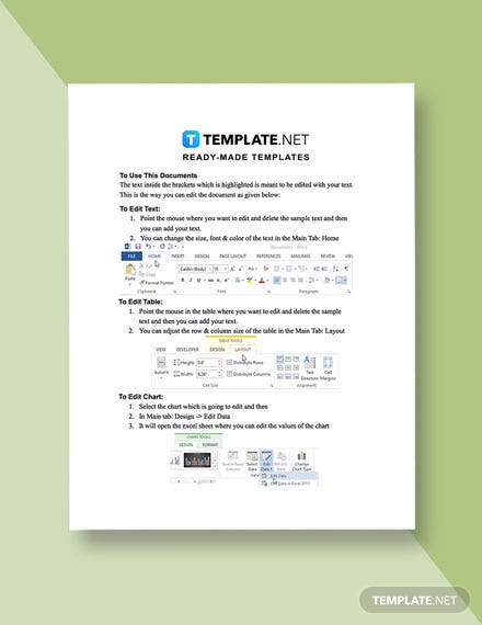 Work From Home Job Quotation Template example
