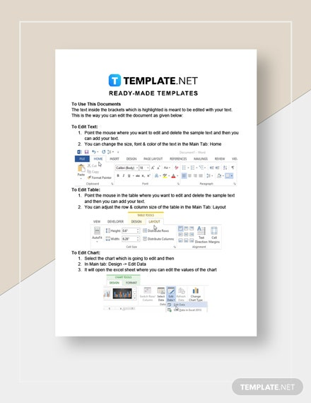 Work From Home Acceptance Letter Template
