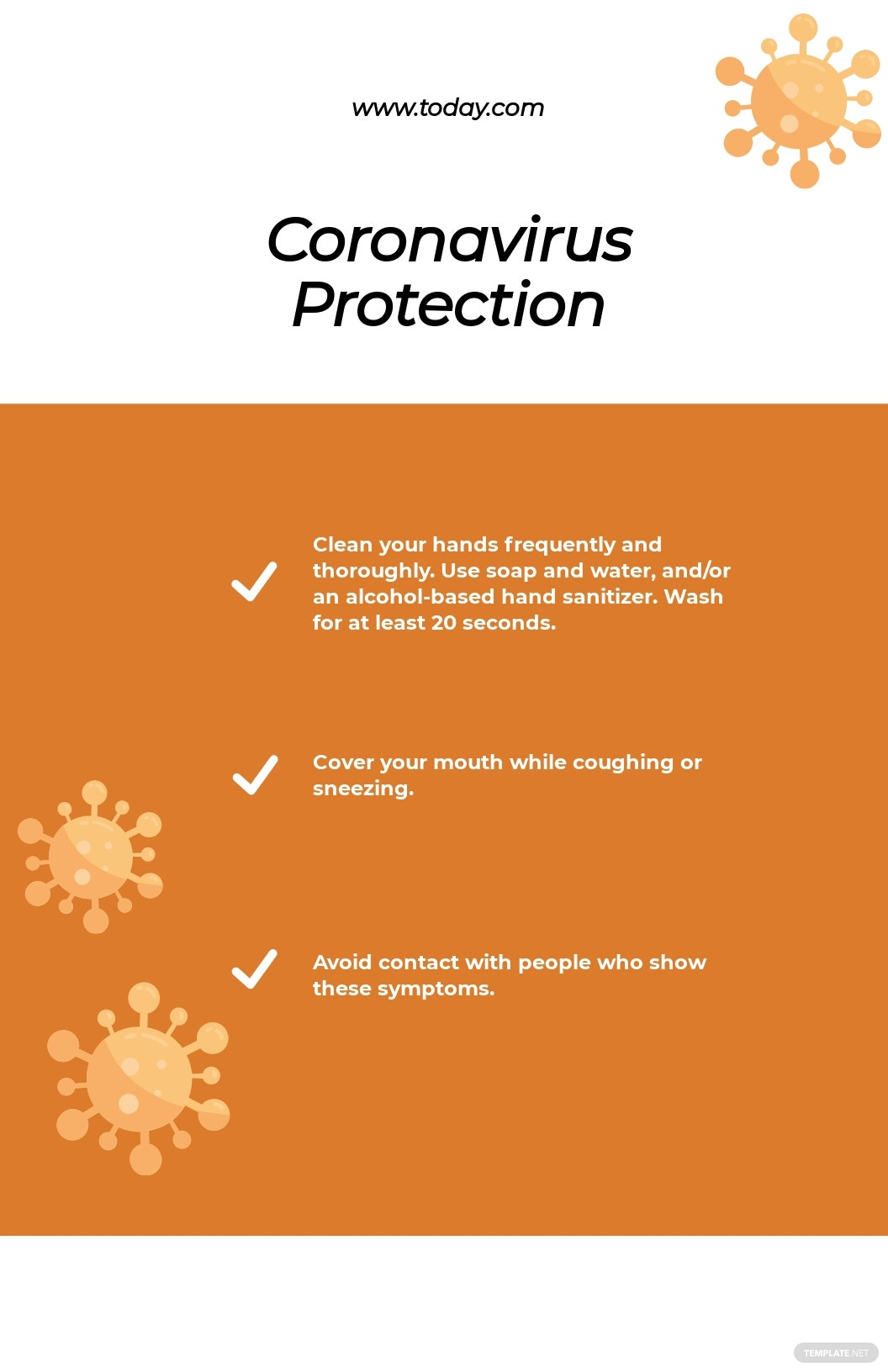 Coronavirus COVID 19 Prevention Poster Template.jpe