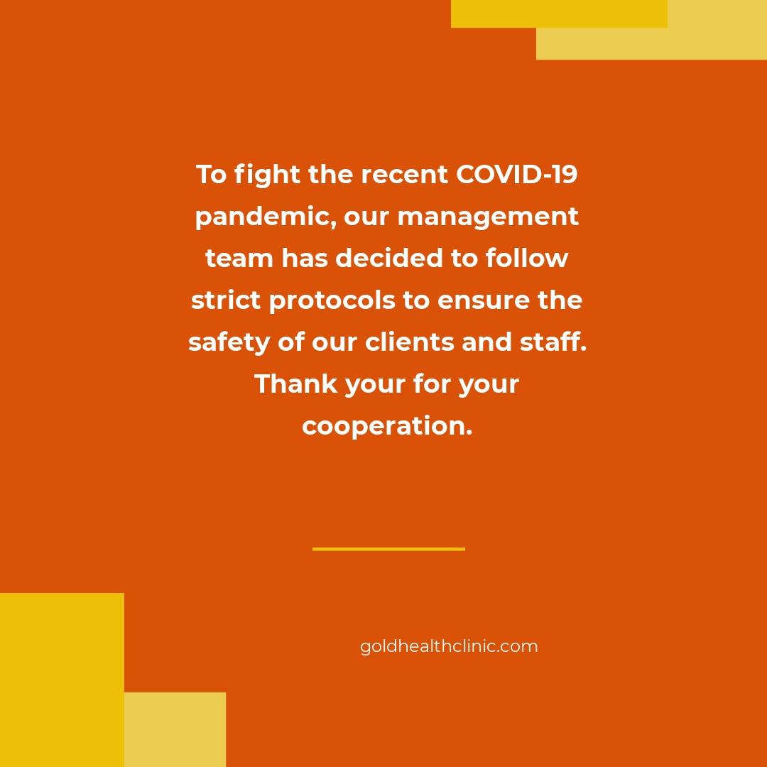 Coronavirus COVID-19 Instagram Banner Post Template