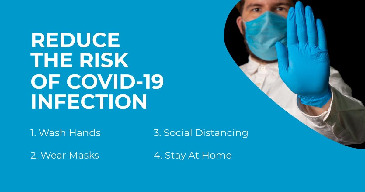 Coronavirus Awareness Facebook Post Template
