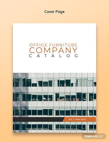 Company Catalog Template [Free PSD] - InDesign, Word, Apple Pages, Publisher