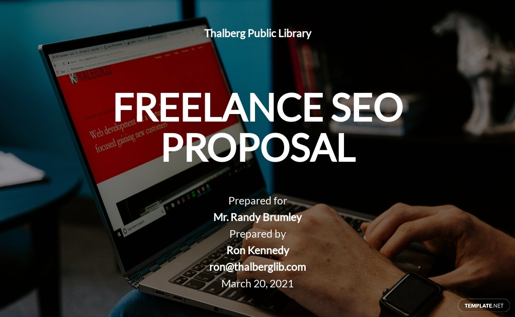 Freelance SEO Proposal Template