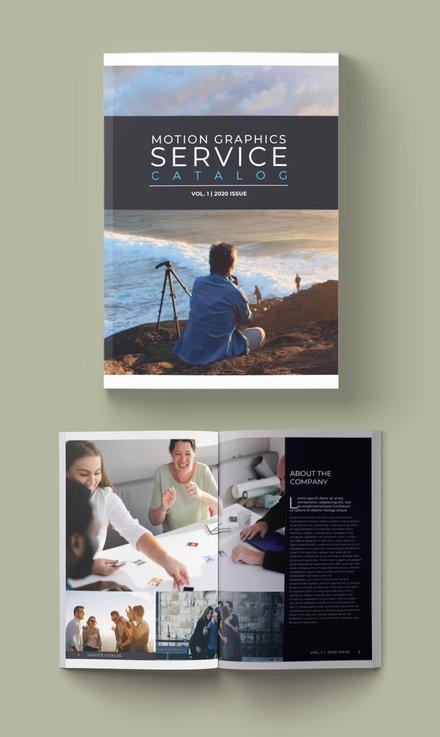 Free Service Catalog Template