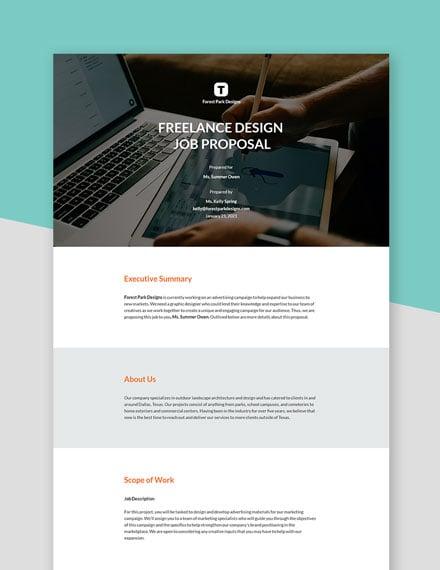Freelance Design Proposal Template