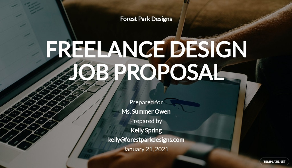 Freelance Design Proposal Template