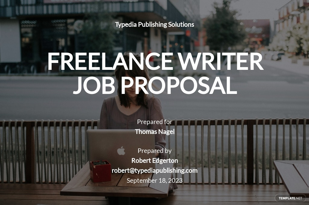 Sample Freelance Writer Proposal Template