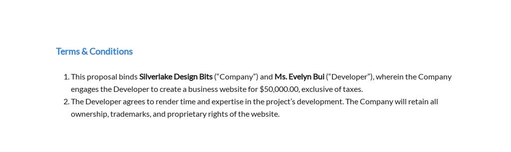 One Page Freelance Web Designer Proposal Template 2.jpe